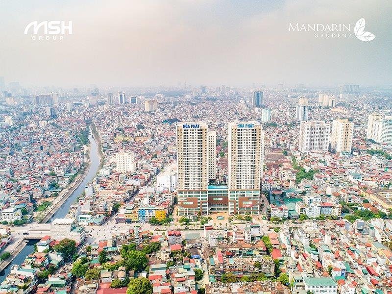 Chung cư Mandarin Garden 2 - Điểm đến mới của cộng đồng ưu tú phía Nam Hà Nội