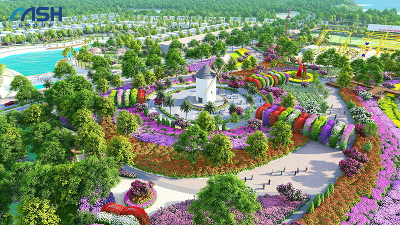 Thung lũng hoa - Địa điểm check-in cực hot tại AE Resort
