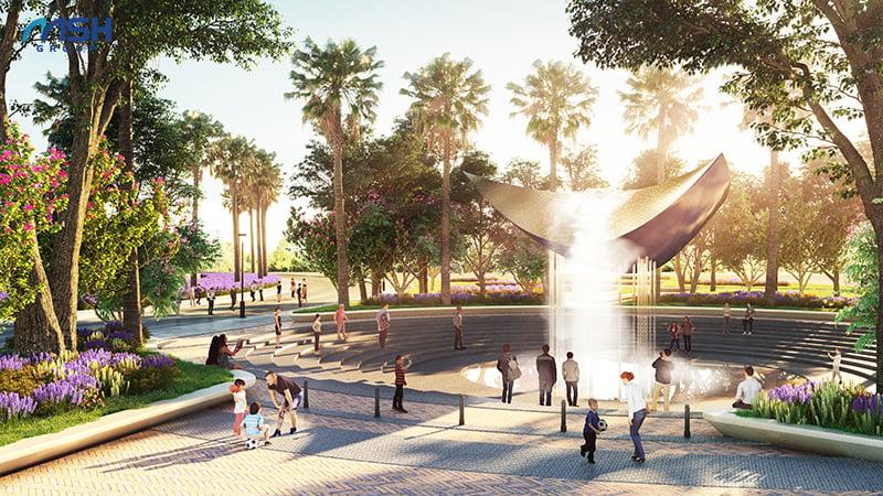 Quảng trường quy tụ nhiều sự kiện lớn, hấp dẫn diễn ra tại AE Resort