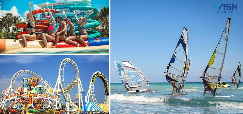 Công viên thể thao là tiện ích AE Resort nổi bật nhất, diện tích lên tới 12ha