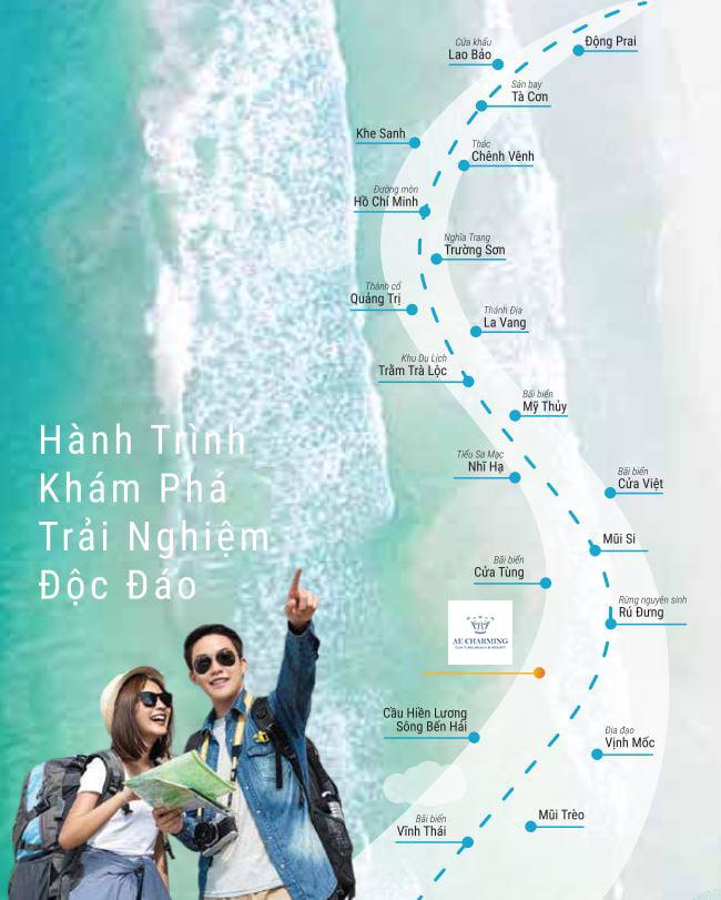 Bản đồ du lịch trải nghiệm lịch sử hấp dẫn tại AE Resort