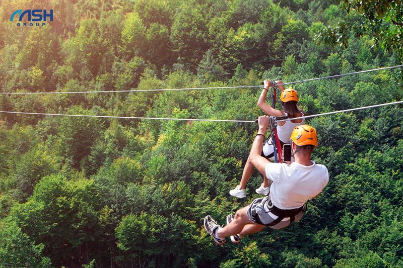 Thoả sức khám phá trải nghiệm với những hoạt động thể thao, phiêu lưu kỳ thú