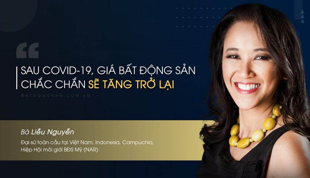 Bà Liễu Nguyễn, Đại sứ toàn cầu tại Việt Nam, Indonesia, Campuchia Hiệp Hội môi giới BĐS Mỹ NAR