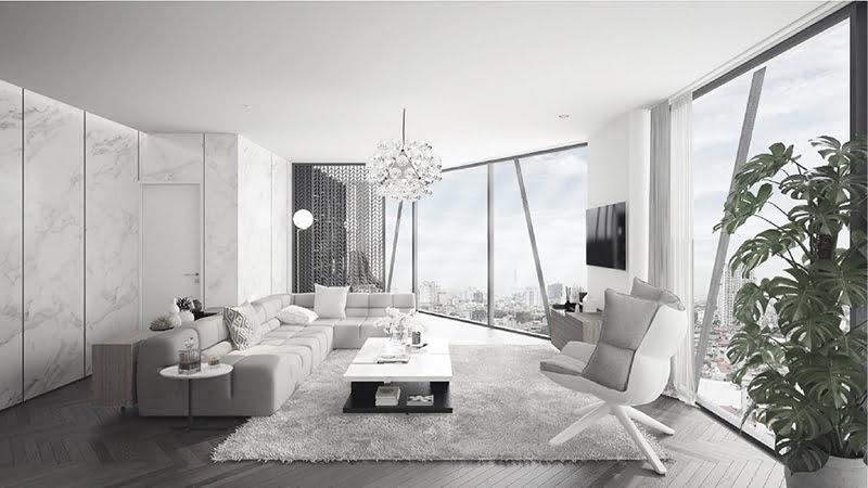 Thiết kế căn hộ thông minh tại dự án The Summit 216