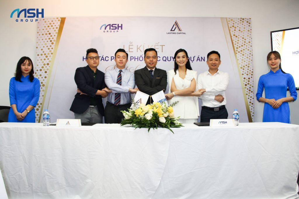 Lễ ký kết Hợp tác phân phối độc quyền dự án Nhật Lệ Riverside