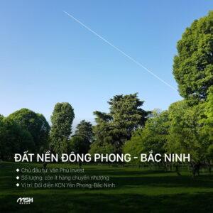 Đất nền Đông Phong Bắc Ninh