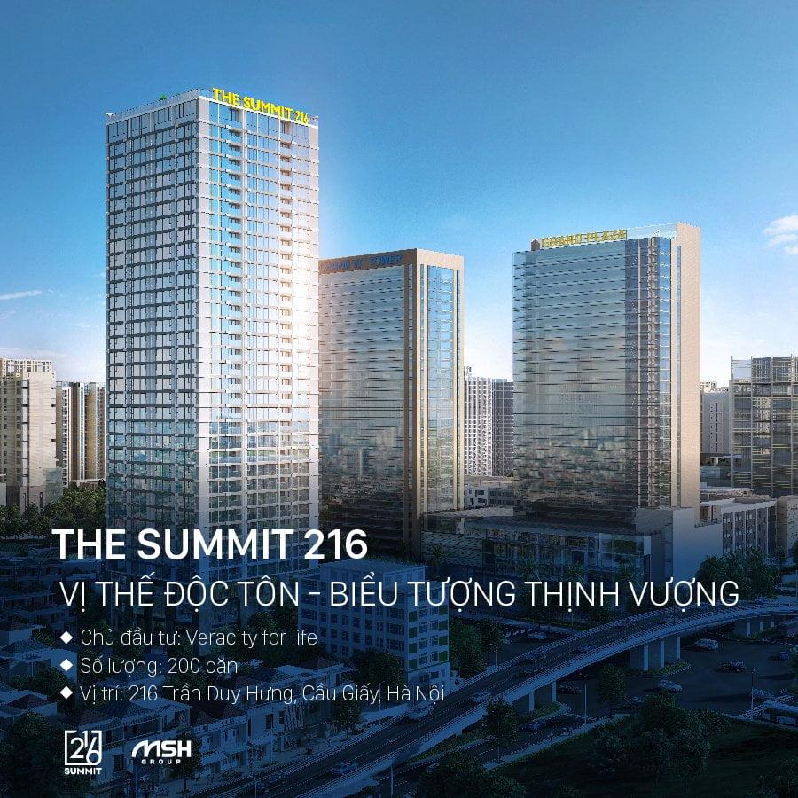 Dự án The summit 216