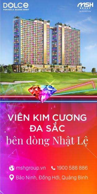 banner doc Dolce Penisola Quang Binh