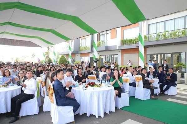 Sự kiện giới thiệu nhà mẫu dự án KVG The Capella Garden hôm 10/12